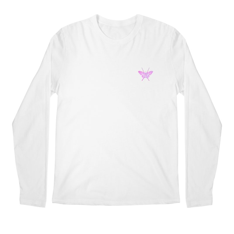 Cut Like A Samurai Sting Like A Butterfly Men's Regular Longsleeve T-Shirt by chriscoffincreations