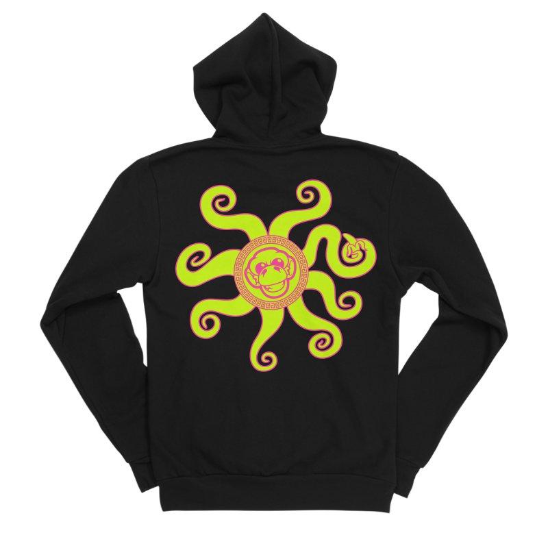 OctoMonkey Women's Sponge Fleece Zip-Up Hoody by chriscoffincreations