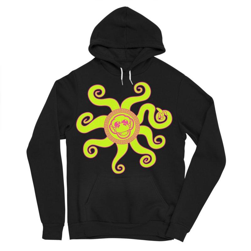 OctoMonkey Men's Sponge Fleece Pullover Hoody by chriscoffincreations