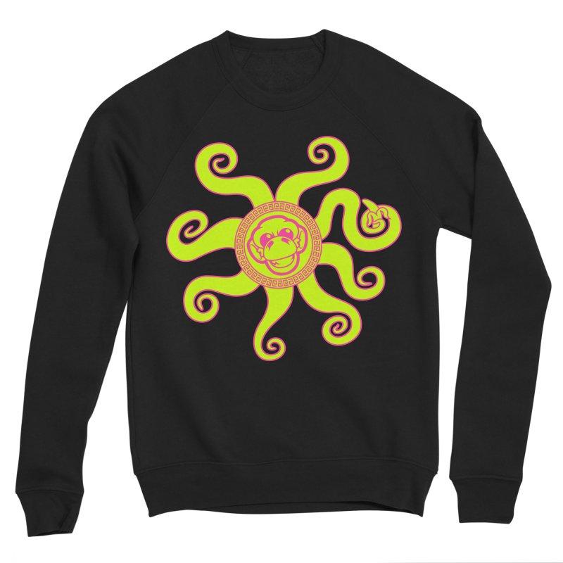OctoMonkey Women's Sponge Fleece Sweatshirt by chriscoffincreations