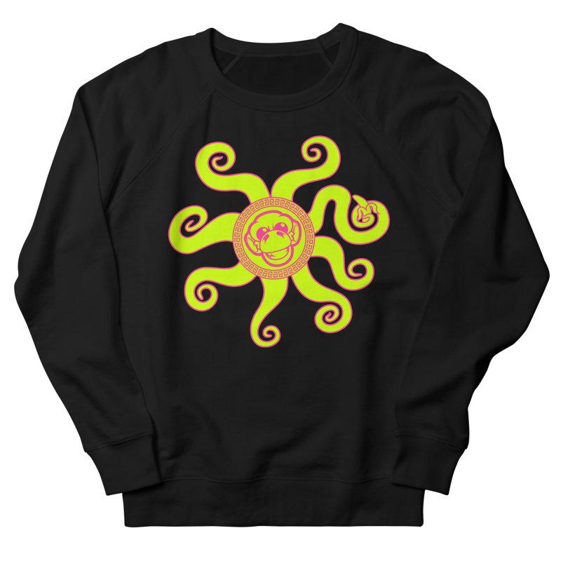 OctoMonkey Women's French Terry Sweatshirt by chriscoffincreations