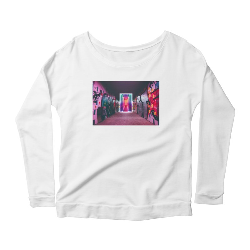 Passage Women's Scoop Neck Longsleeve T-Shirt by chriscoffincreations