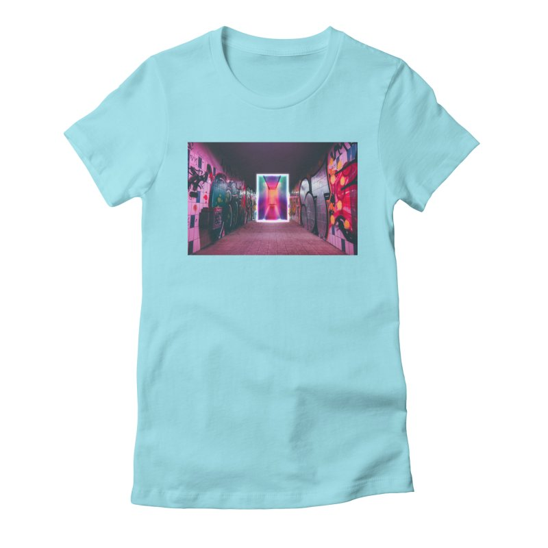 Passage Women's Fitted T-Shirt by chriscoffincreations