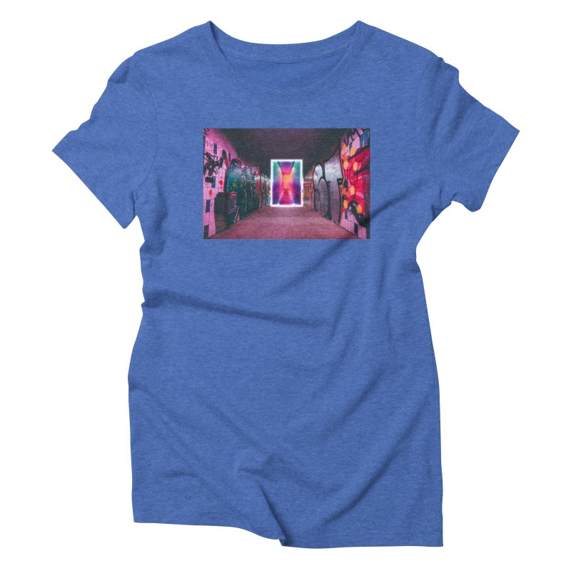 Passage Women's Triblend T-Shirt by chriscoffincreations