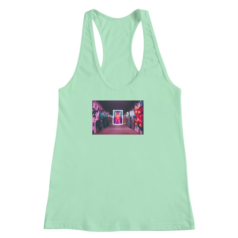 Passage Women's Racerback Tank by chriscoffincreations