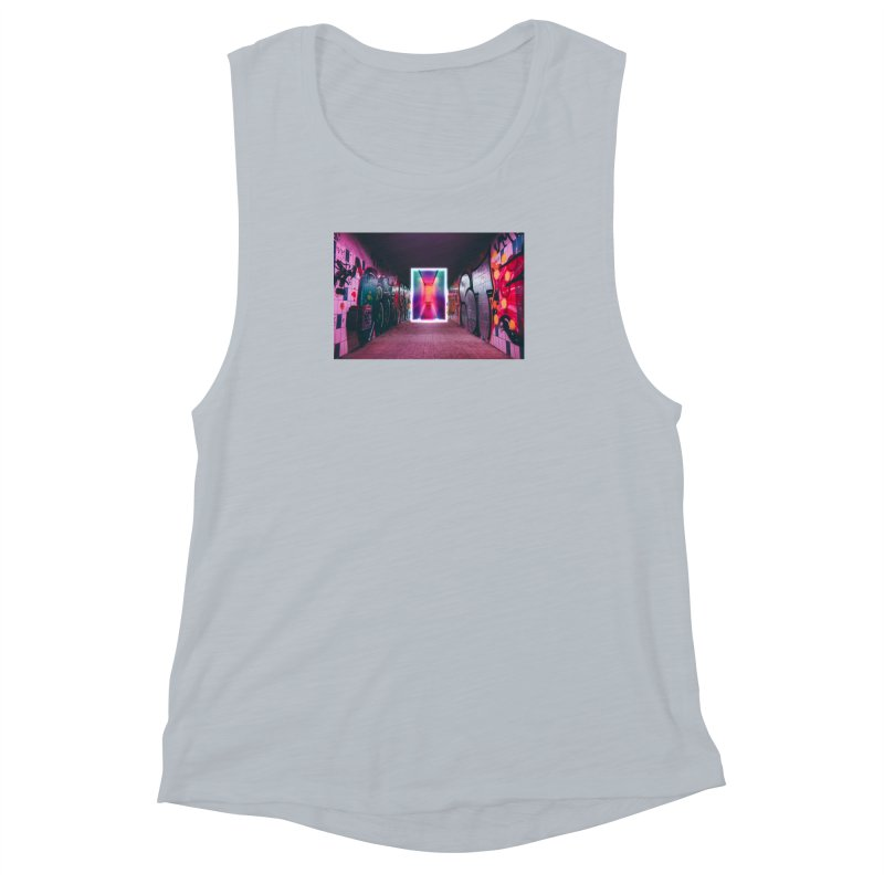 Passage Women's Muscle Tank by chriscoffincreations