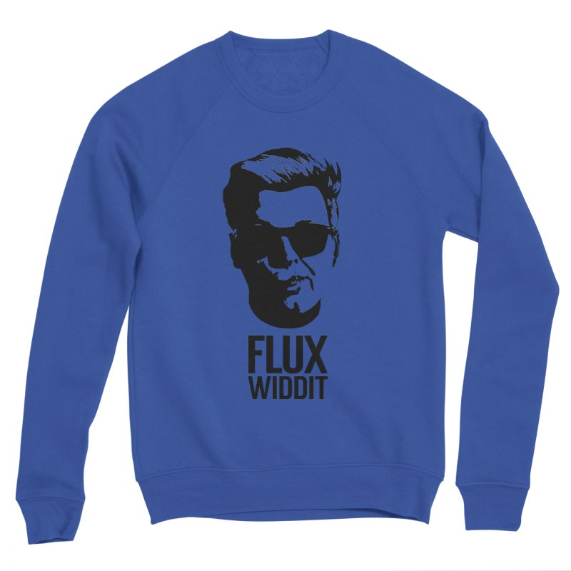 Flux Widdit Men's Sponge Fleece Sweatshirt by chriscoffincreations