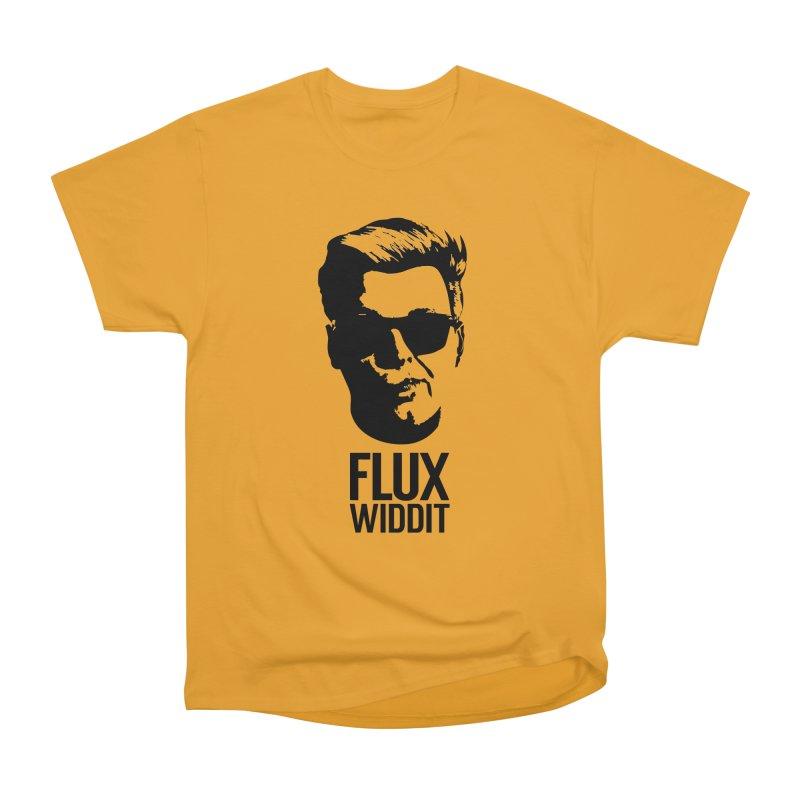 Flux Widdit Men's Heavyweight T-Shirt by chriscoffincreations