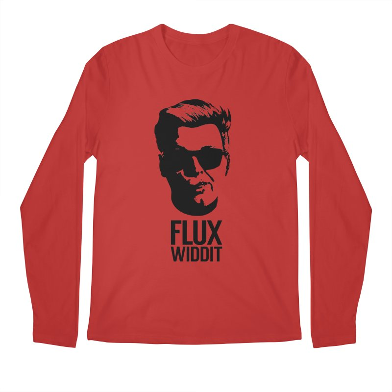 Flux Widdit Men's Regular Longsleeve T-Shirt by chriscoffincreations