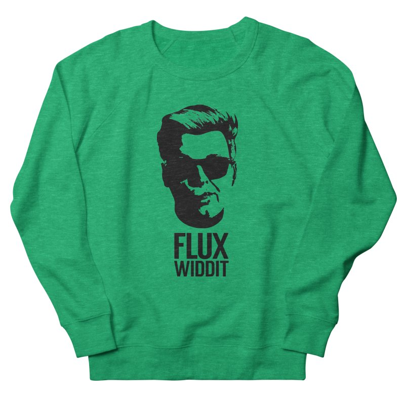 Flux Widdit Men's French Terry Sweatshirt by chriscoffincreations