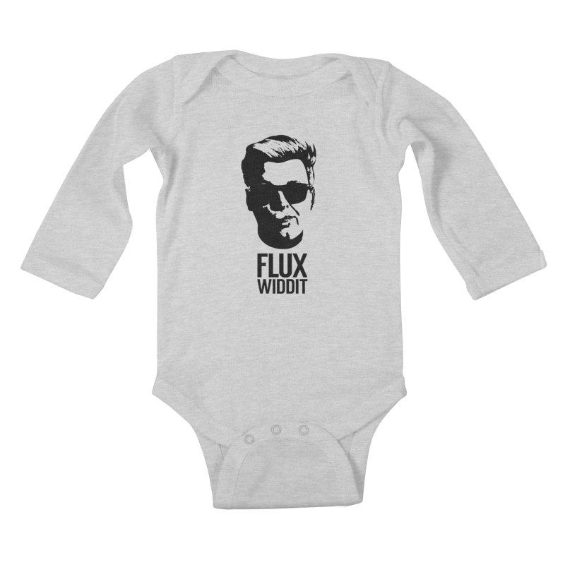 Flux Widdit Kids Baby Longsleeve Bodysuit by chriscoffincreations