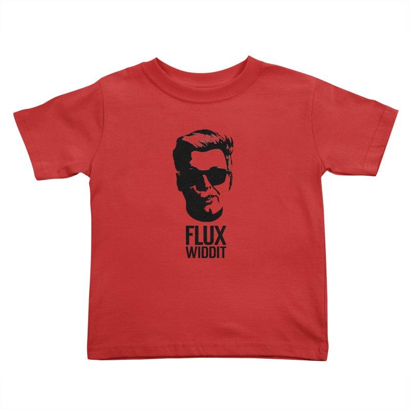 Flux Widdit Kids Toddler T-Shirt by chriscoffincreations