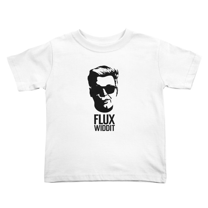 Flux Widdit Kids Toddler T-Shirt by chriscoffincreations