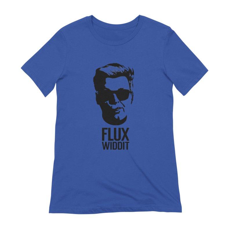 Flux Widdit Women's T-Shirt by chriscoffincreations
