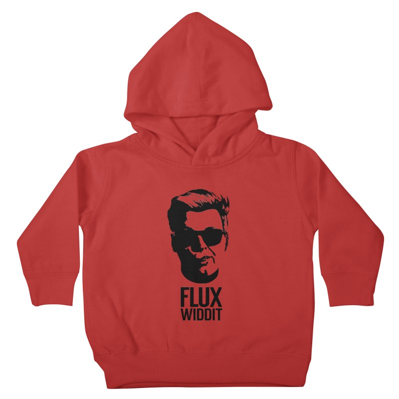 Flux Widdit Kids Toddler Pullover Hoody by chriscoffincreations