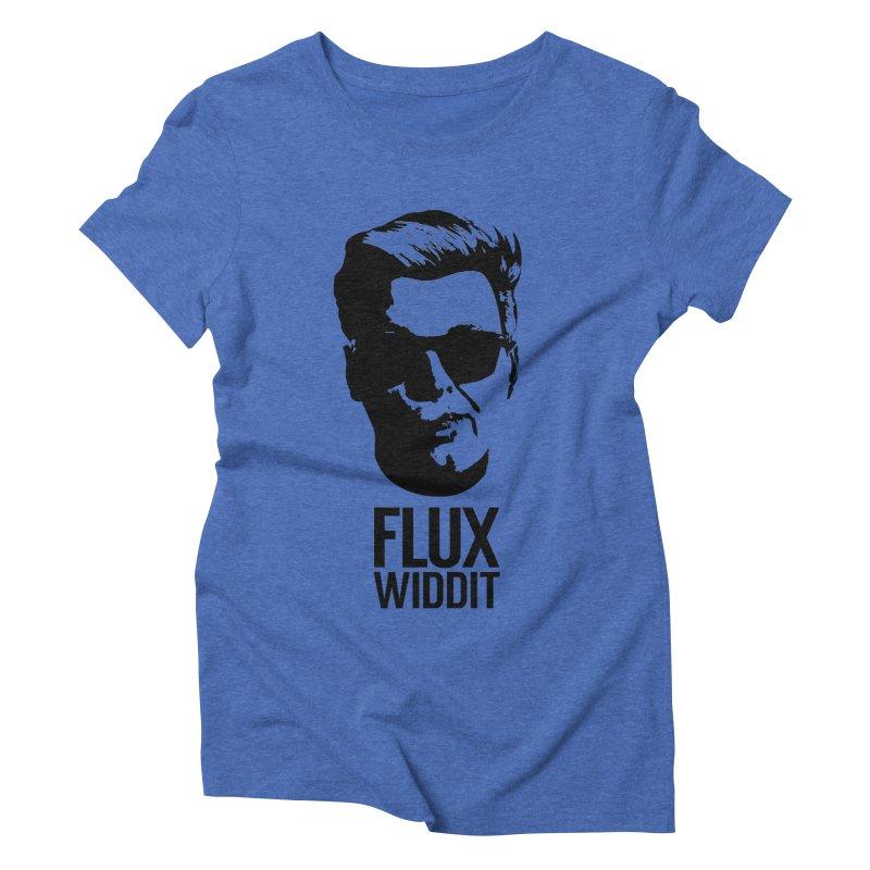 Flux Widdit Women's Triblend T-Shirt by chriscoffincreations
