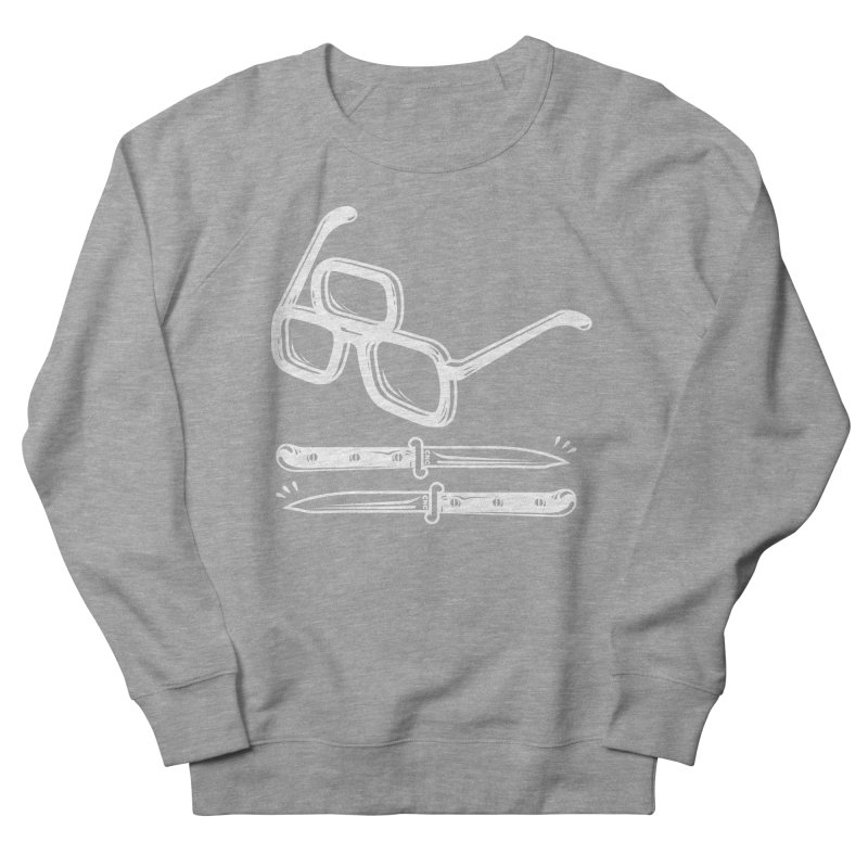 Third Eye Glasses Men's Sweatshirt by Chris Crammer