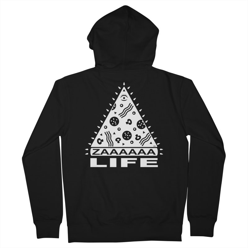 Zaaaaaa Life Men's Zip-Up Hoody by chriscrammer's Artist Shop