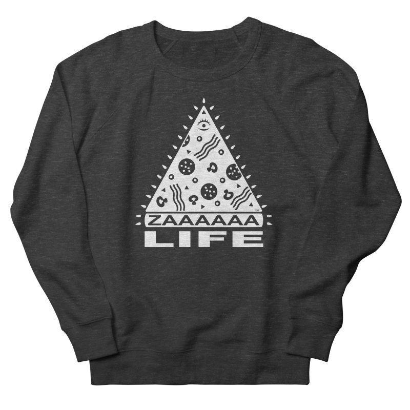 Zaaaaaa Life Women's French Terry Sweatshirt by Chris Crammer
