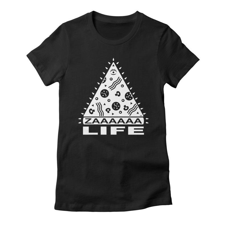 Zaaaaaa Life Women's Fitted T-Shirt by chriscrammer's Artist Shop