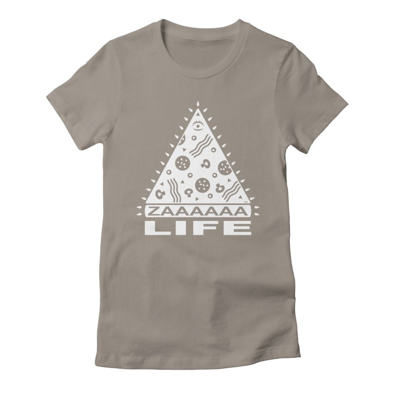 Zaaaaaa Life Women's T-Shirt by Chris Crammer