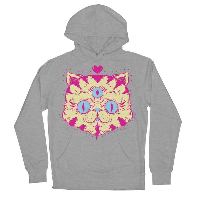 # Eye Cat Love Women's Pullover Hoody by chriscrammer's Artist Shop