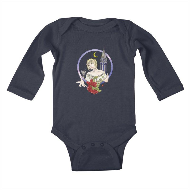 Maria Kids Baby Longsleeve Bodysuit by ChrisCustoms