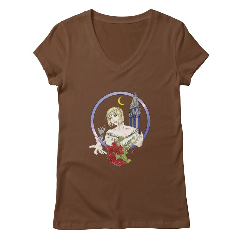 Maria Women's V-Neck by ChrisCustoms