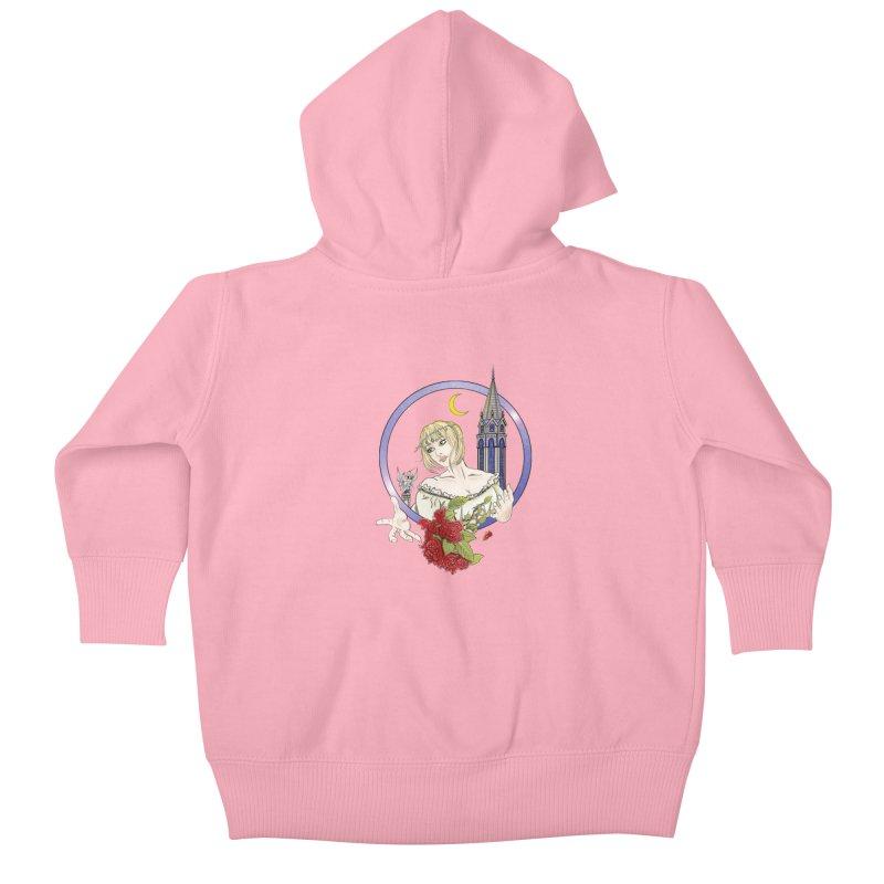 Maria Kids Baby Zip-Up Hoody by ChrisCustoms