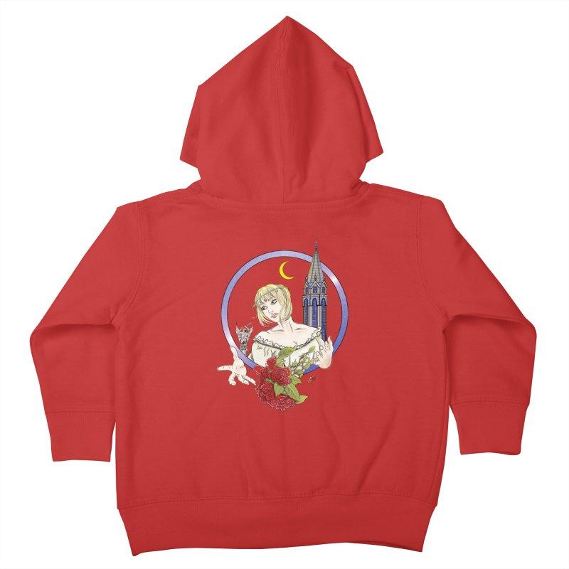 Maria Kids Toddler Zip-Up Hoody by ChrisCustoms