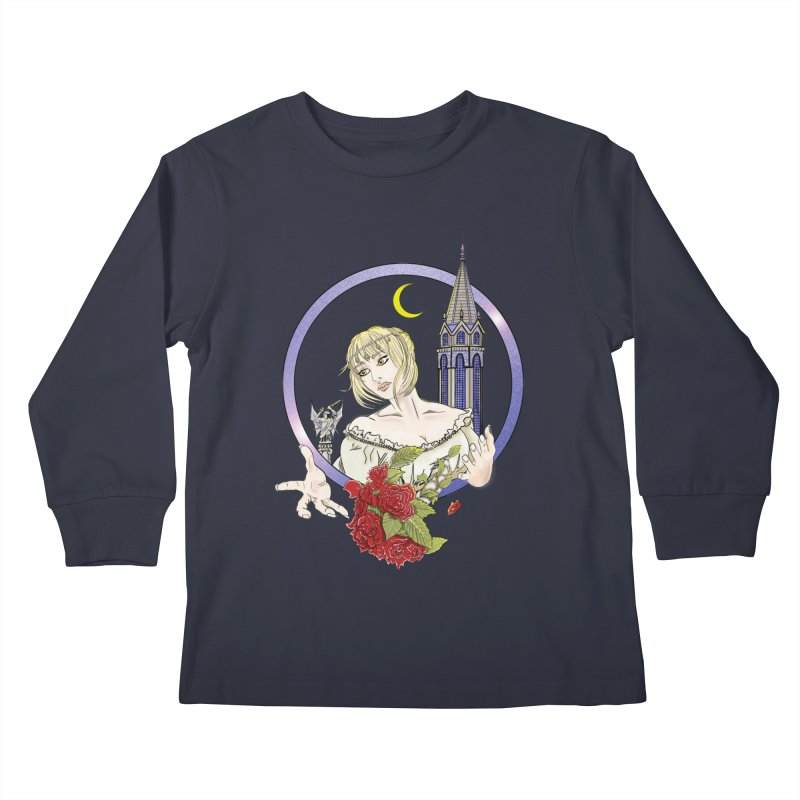 Maria Kids Longsleeve T-Shirt by ChrisCustoms