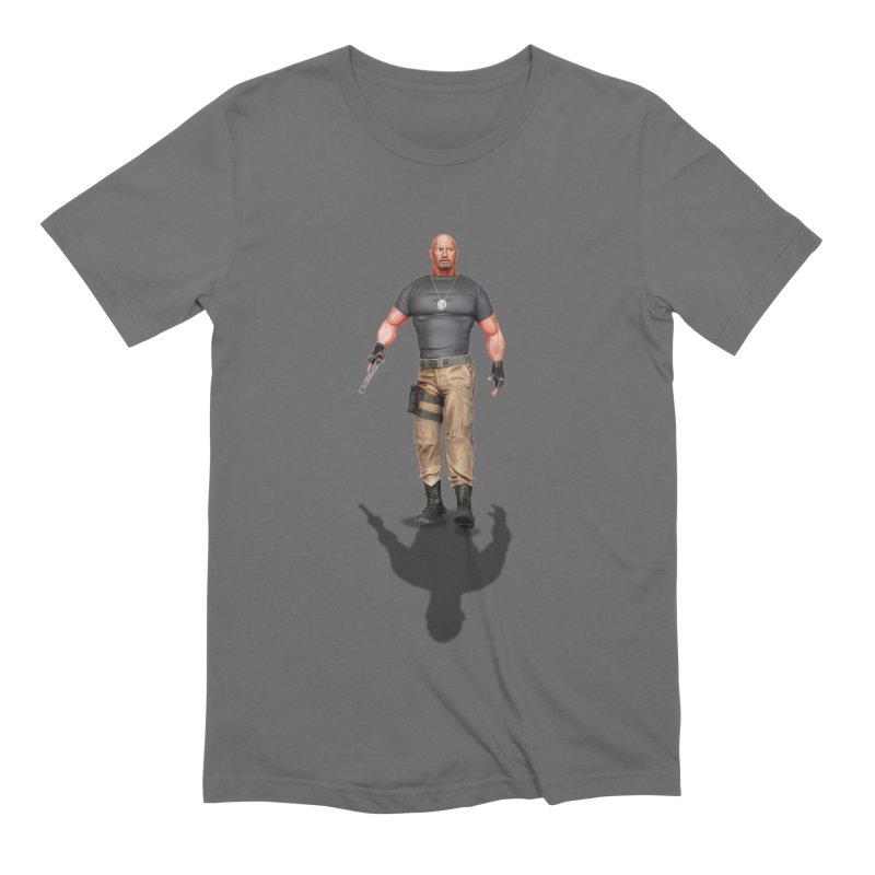 Agent Luke Hobbs V2 Men's T-Shirt by ChrisCustoms