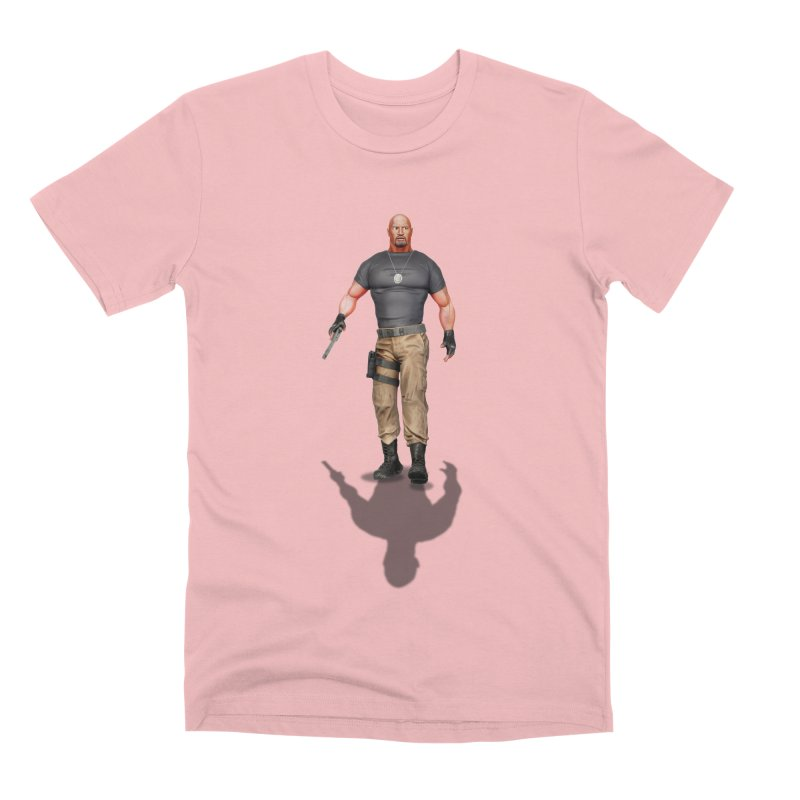 Agent Luke Hobbs V2 Men's T-Shirt by ChrisCustoms