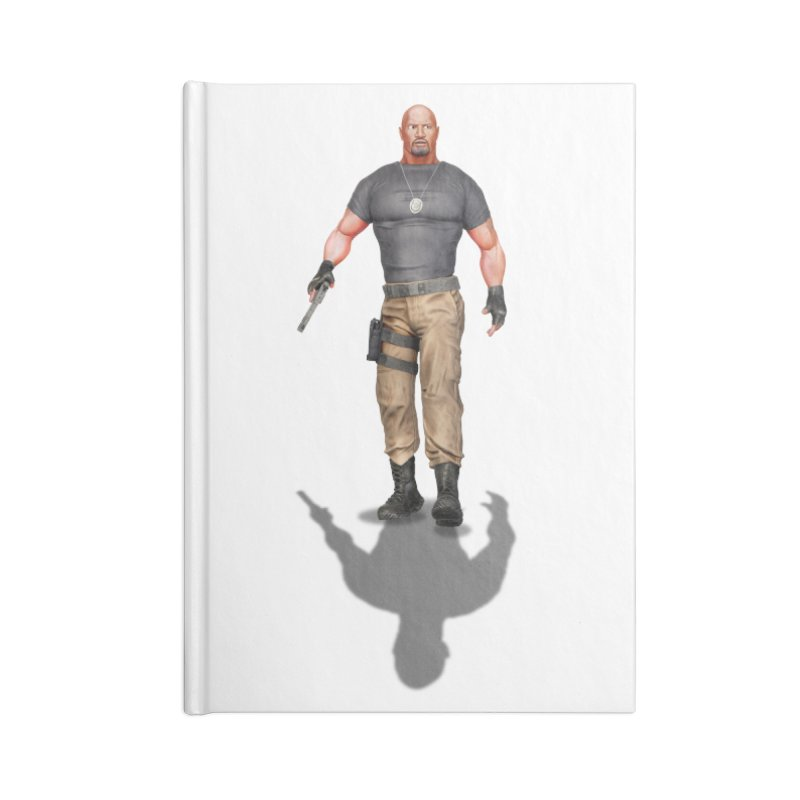Agent Luke Hobbs V2 Accessories Notebook by ChrisCustoms