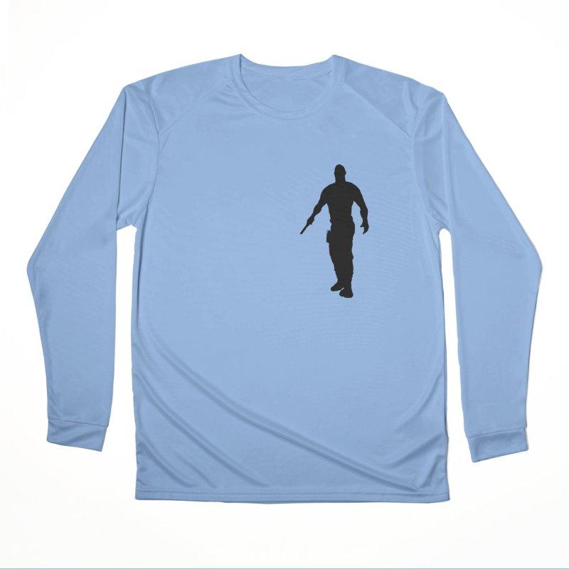Hobbs: Silhouette Men's Longsleeve T-Shirt by ChrisCustoms