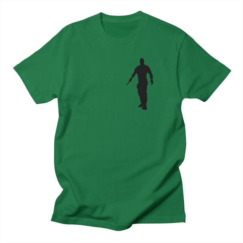 Hobbs: Silhouette Men's T-Shirt by ChrisCustoms