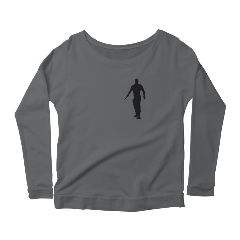 Hobbs: Silhouette Women's Longsleeve T-Shirt by ChrisCustoms