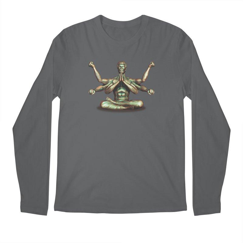 Bruce: Zen 2 Men's Longsleeve T-Shirt by ChrisCustoms