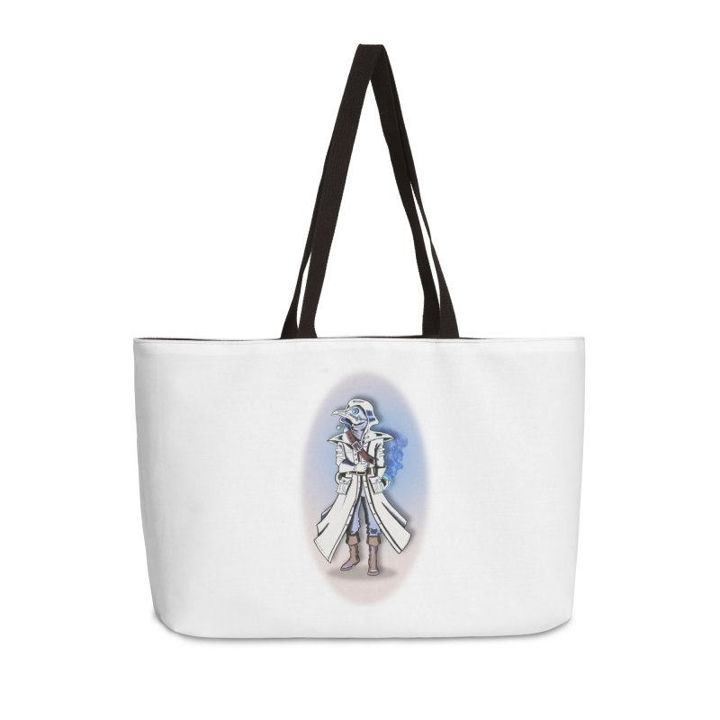 Plague Doctor: Blue Gradient Accessories Bag by ChrisCustoms
