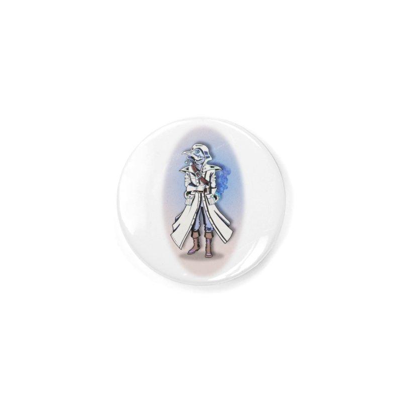 Plague Doctor: Blue Gradient Accessories Button by ChrisCustoms