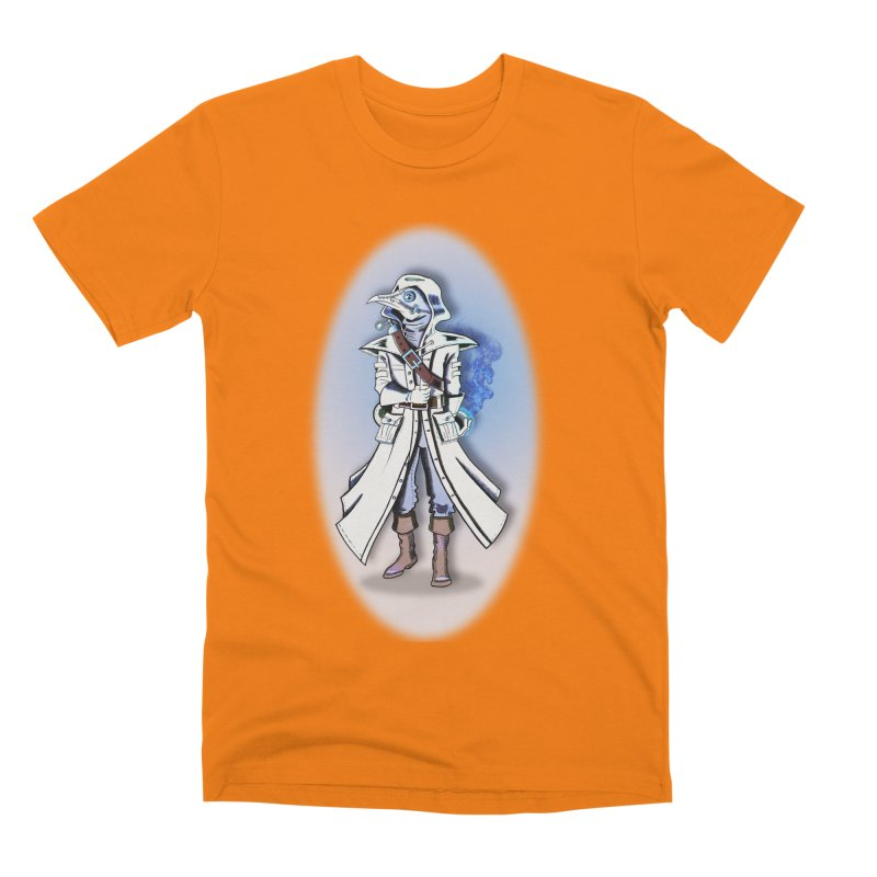 Plague Doctor: Blue Gradient Men's T-Shirt by ChrisCustoms