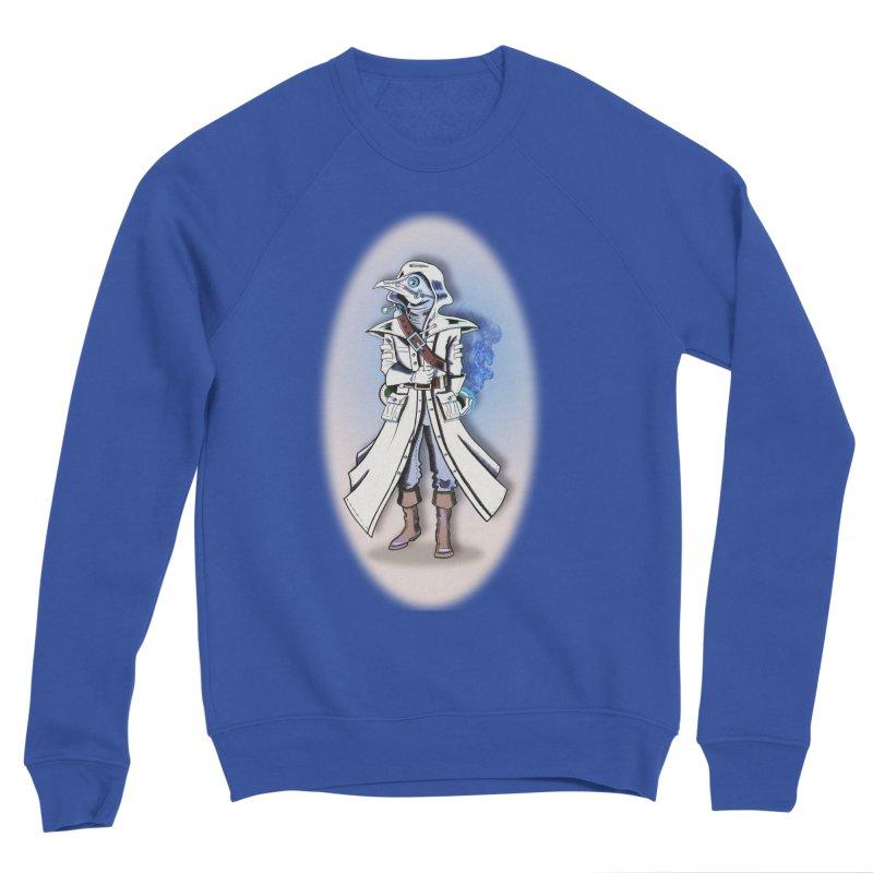 Plague Doctor: Blue Gradient Men's Sweatshirt by ChrisCustoms