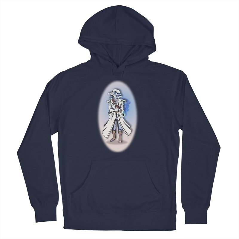 Plague Doctor: Blue Gradient Men's Pullover Hoody by ChrisCustoms