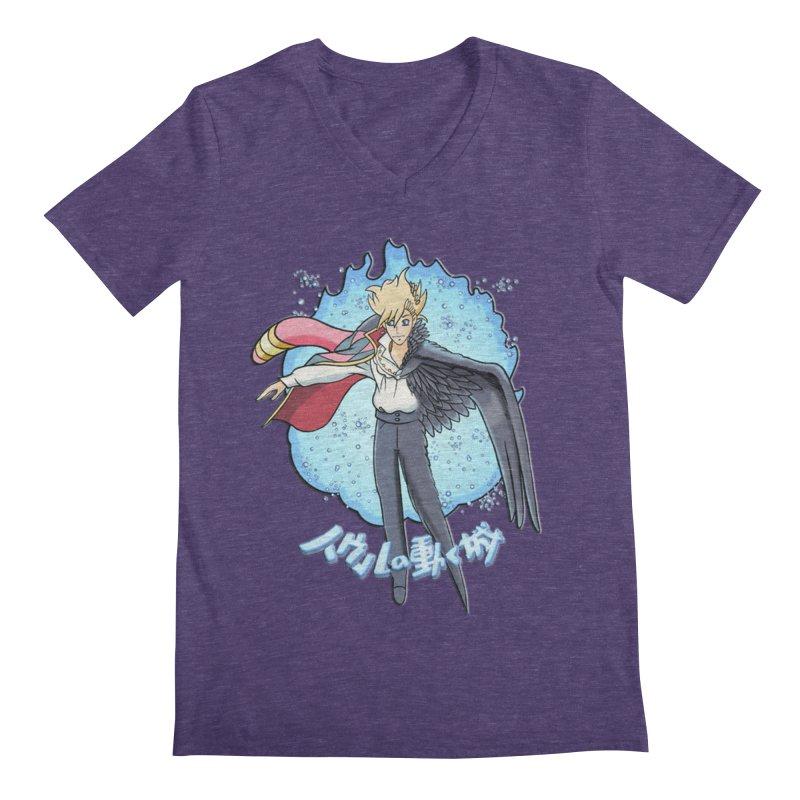 Howl the Wizard Fan Art Men's V-Neck by ChrisCustoms