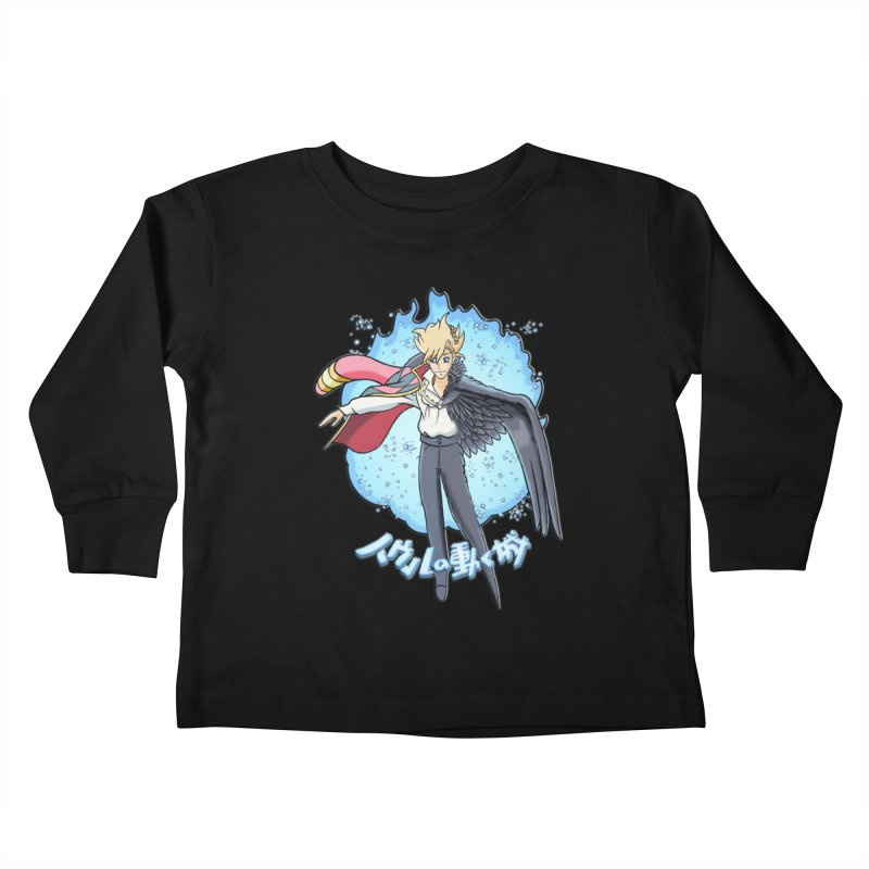 Howl the Wizard Fan Art Kids Toddler Longsleeve T-Shirt by ChrisCustoms