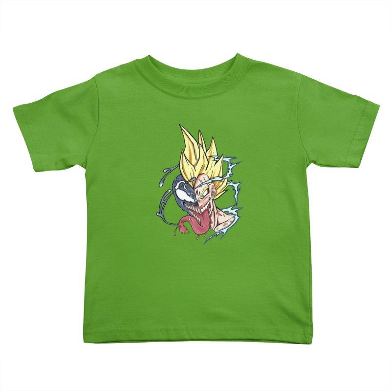 Majin Vengeta Kids Toddler T-Shirt by ChrisCustoms