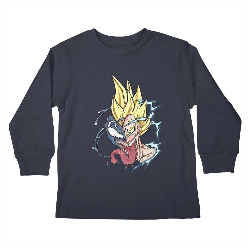 Majin Vengeta Kids Longsleeve T-Shirt by ChrisCustoms