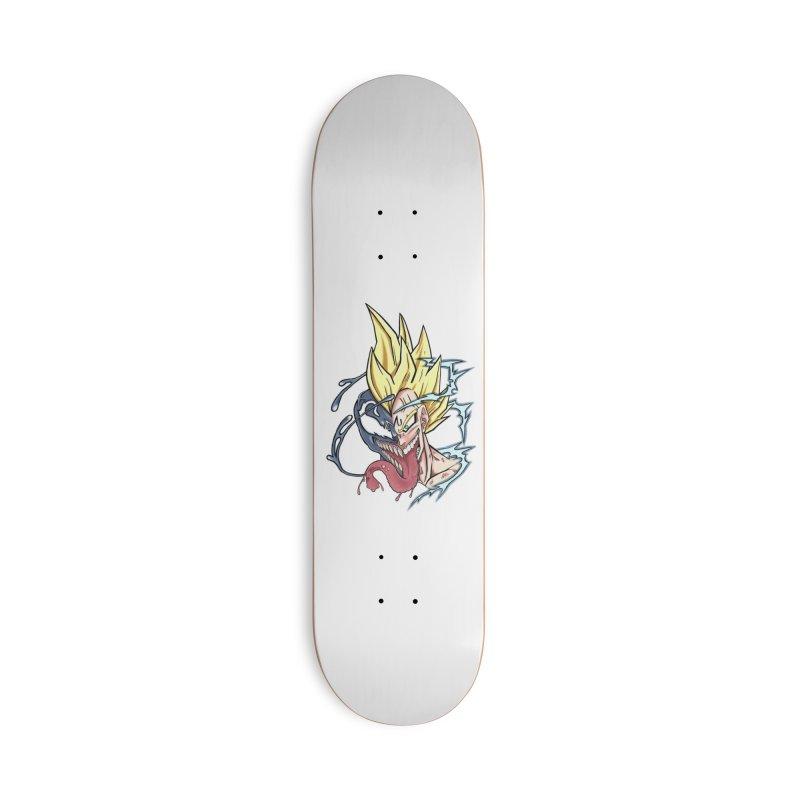 Majin Vengeta Accessories Skateboard by ChrisCustoms