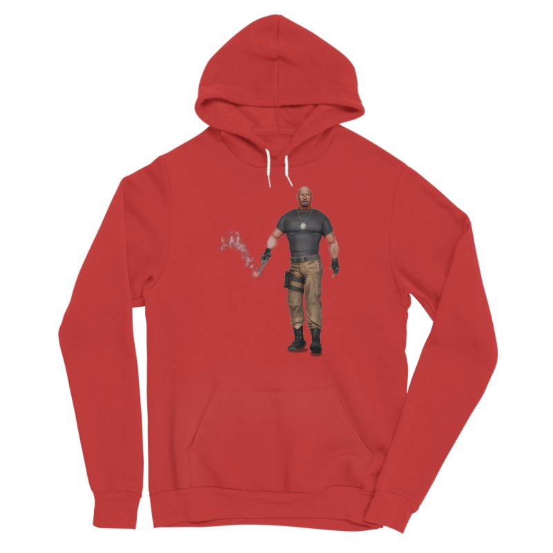 Bad @$$ Men's Pullover Hoody by ChrisCustoms