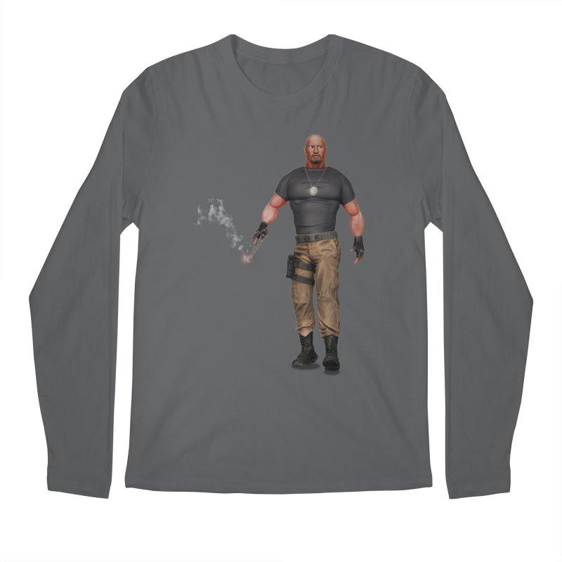 Bad @$$ Men's Longsleeve T-Shirt by ChrisCustoms